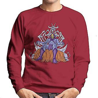 Masters Of The Universe Skeletor Throne Of Bones Men's Sweatshirt