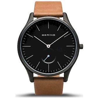 Bering - ساعة اليد - رجال - كلاسيكي - أسود غير لامع - 16641-522