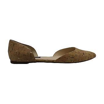 Negen West Womens sterrenschip Suede Pointed Toe Casual Slide Sandals