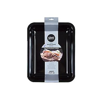 What More Cook Vitreous Enamel Roaster 39 x 31cm 55150