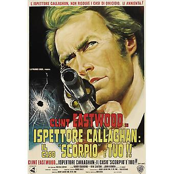 Dirty Harry Movie Poster Masterprint