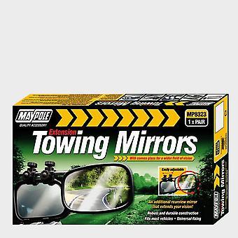 New Maypole Towing Mirrors (pair) Black
