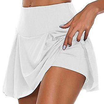 Sports Tennis Yoga Fitness Short Skirt Badminton Breathable Quick Drying Women