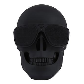 Solbriller Skull Bluetooth Stereo Høyttaler, for iPhone, Samsung, HTC, Sony og andre smarttelefoner (svart)