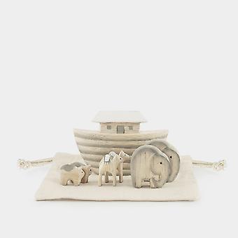 East of India MINI Bagged Two by Two Handmade Noahs Ark Set