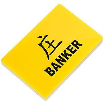 Deluxe kaiverrettu Baccarat pankkiiri