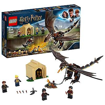 Lego harry potter 75946 ungherese horntail triwizard sfida giocattolo drago, idee regalo Harry Potter