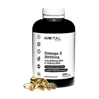 Omega 3 2000 mg 200 capsules