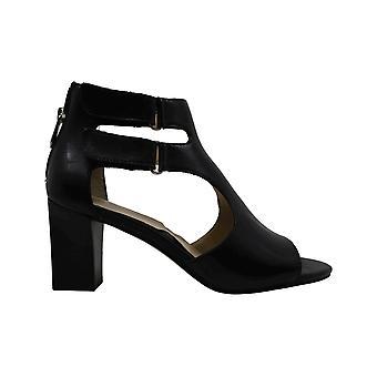 Adrienne Vittadini Womens rea Peep Toe Casual Ankle Strap Sandals