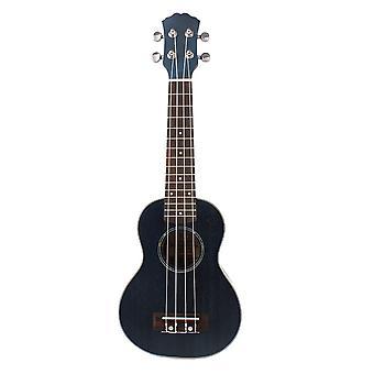 21inch Ukelele Sapele Ukulele 4 String Guitar Mini Guitar Gradient Blue