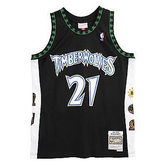 M&N Swingman Jersey Minnesota Timberwolves 1996-2016 Garnett