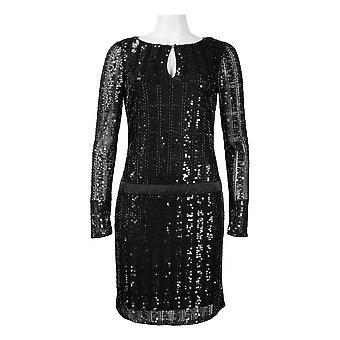 Drop Waist Sequin Dress