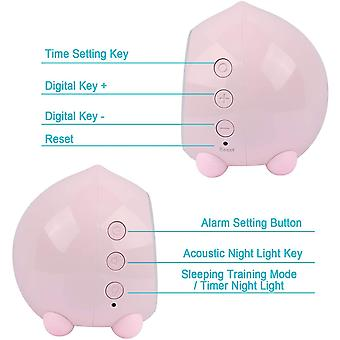 PROKING Alarm Clock for Kids Digital Sunrise Simulator Alarm Clock