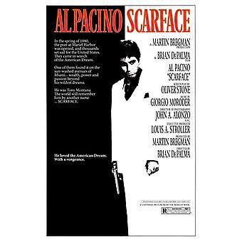 Impresión de póster de película Scarface (27 x 40)