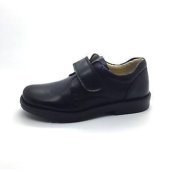PETASIL Single Velcro Classic Style School Shoe
