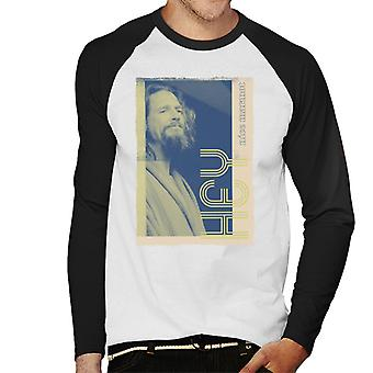 The Big Lebowski The Dude Hej Nice Marmot Nostalgia Men's Baseball Långärmad T-shirt