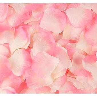 الحرير القماش حفز بتلات الورد