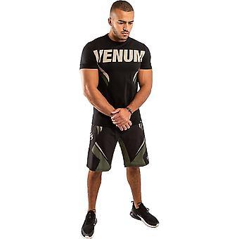 Venum One FC Impact T-Shirt Schwarz/Khaki