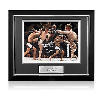 براد بيكيت وقعت UFC المونتاج. إطار ديلوكس