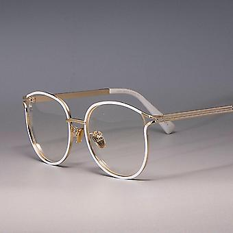 45257 Ladies Cat Eye Glasses Frames Metal Frame Optical Fashion Eyewear