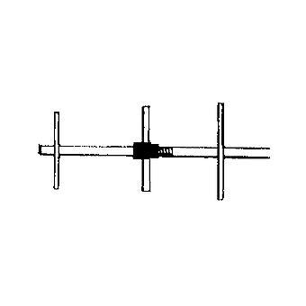896-970 MHz 6dB 3 Element Yagi Antenna
