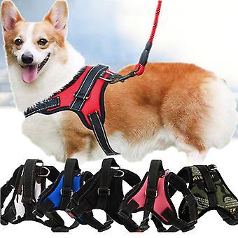 Soft Adjustable Harness Pet Large For Dog And Walk Out Harness Vest & Medium