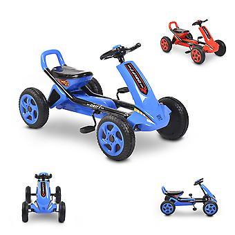 Moni Kids Gokart Drift Pedal Auto Plastica Pneumatico, da 3 Anni, Freno posteriore