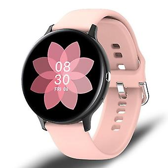 Lige Sport Smartwatch - Silicone Strap Fitness Activity Tracker Watch Android - Pink