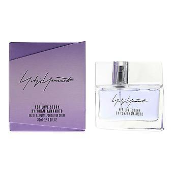 Yohji Yamamoto Her Love Story Eau de Parfum 30ml Spray