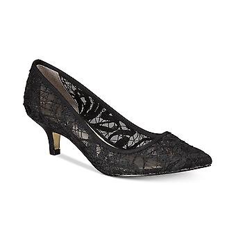 Adrianna Papell Womens Lois Leather Pointed Toe Classic Pumps