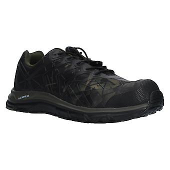 Albatros energy impulse olive safety trainers mens