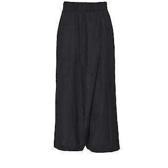 NU Satin Wide Leg Culotte Trousers