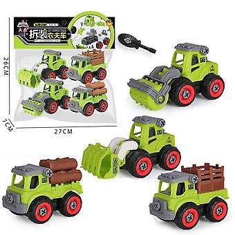 Children's educational farm vehicle toy