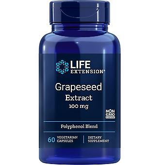 Life Extension Grapeseed Extrakt 100mg Vegicaps 60