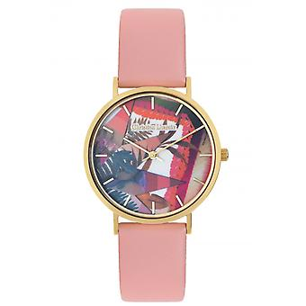 Christian Lacroix CLW306 Women's Watch - Couro Rosa