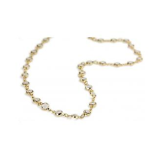 Traveller Necklace Gold Plated With Crystals From Swarovski - 157286 - 744