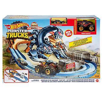 Hot Wheels Monster Truck Skorpion Sting Raceway