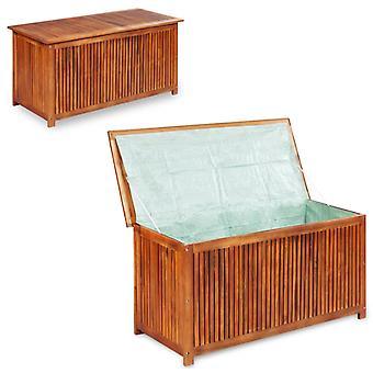 vidaXL Garden Box 117×50×58 cm Solid wood Acacia