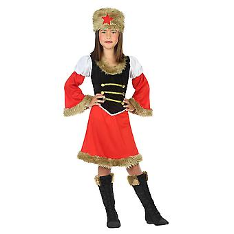 Déguisement militaire armée russe fille