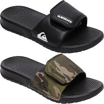 Quiksilver Boys Kids Bright Coast Adjustable Sandals Slides Flip Flops Sliders