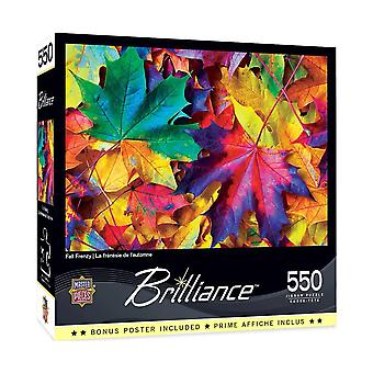 Fall Frenzy 550pc Puzzle