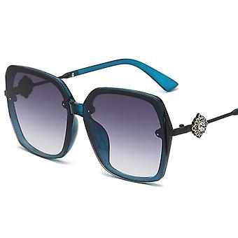 Vierkante gepolariseerde zonnebril voor mannen en vrouwen polygoon gespiegelde lens y1741