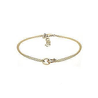 Elli Women's Bracelet Braided Circle Minimum in Sterling Silver 925