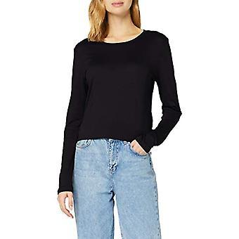 True Religion Longsleeve Tshirt T-Shirt, Schwarz, XS Woman