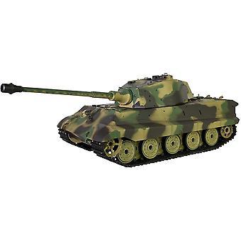 Heng Long 1:16 King Tiger Henschel RC Tank met rook en geluid