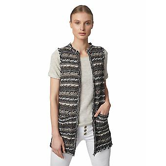 Shuuk Knitted Vest with Fraying