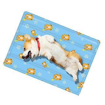 Liten blå sommer katt mat matte er bite resistantdog kennel ismatte x482