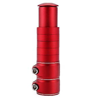 2# Punainen maastopyörä etuhaarukka putken nousu, ohjaustangon nousu ja extender az9065