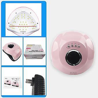 Us plug 180w uv led nail lamp, 45 led lights phototherapy lamp gel nail dryer professional curing nail lamp az8752