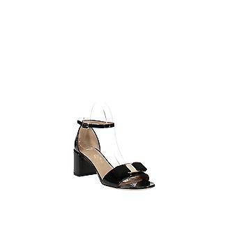 | Salvatore Ferragamo Gavina Ankle Strap Block Heel Sandales